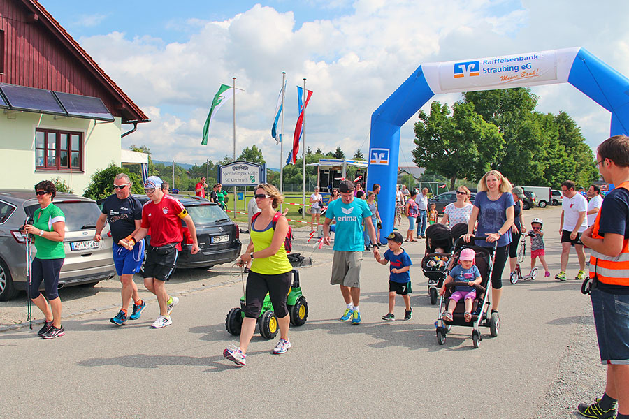 2. Kinderlobby-Lauf in Kirchroth am 02.06.2018