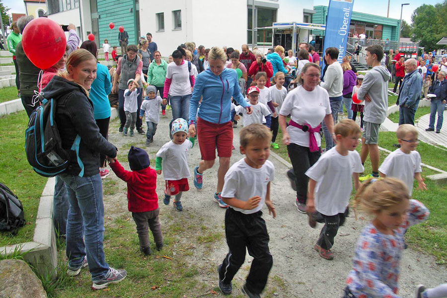 1. Kinderlobby-Lauf in Wiesenfelden am 09.09.2017